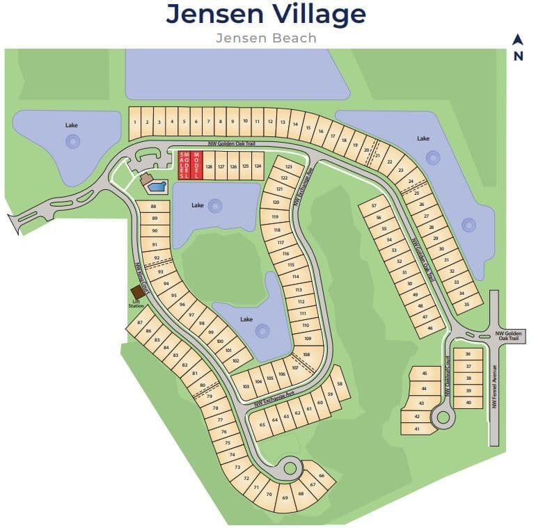 Jensen Village Homes For Sale